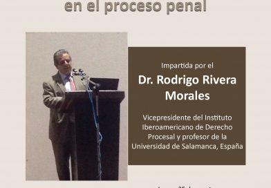 Invita CEDH a conferencia magistral sobre nuevo sistema de justicia penal