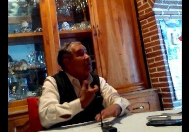 """""""Son simoneros …vividores de la fe"""", critica Jose Rojas"""