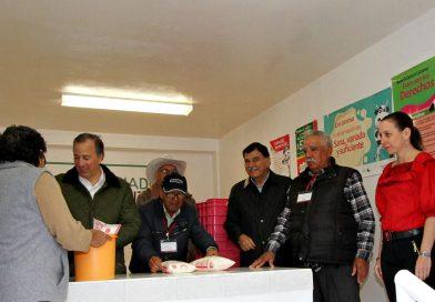 Anuncian MGZ y Meade la apertura de 10 lecherías Liconsa en Tlaxcala