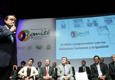 El IMSS presenta el primer comité de Derechos Humanos e igualdad con el acompañamiento de SEGOB y CNDH