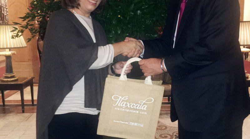 Sostienen gobernador reunión con la Embajadora de México en Austria