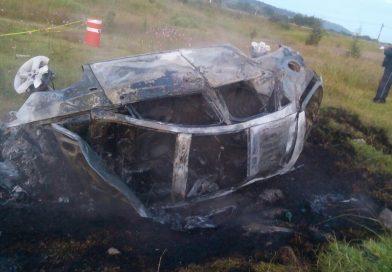 Un muerto y lesionados deja volcadura en la México-Ocotoxco