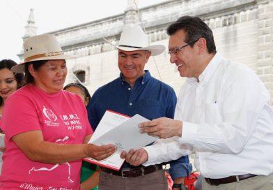 Juntos lograremos que Tlaxcala produzca mejor: José Calzada