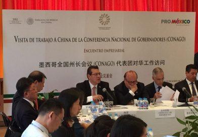Realiza Marco Mena promoción industrial ante inversionistas asiáticos