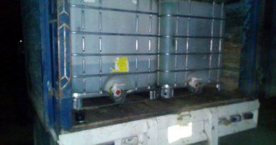 En operativo conjunto se aseguró hidrocarburo ilegal