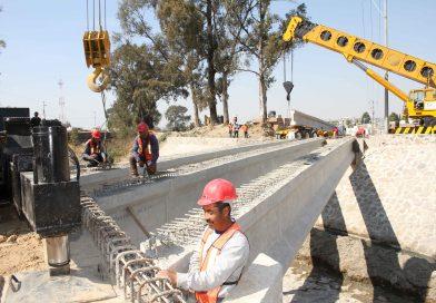 Concluye SECODUVE primera etapa de puente vehicular en Huactinco y Axocomanitla