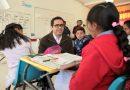 Continúa Secretario de Educación en recorridos por escuelas del poniente