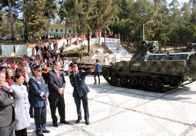 Encabeza Marco Mena CV Aniversario del Ejército Mexicano