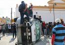 Retiran de Ixtenco patrullas vandalizadas