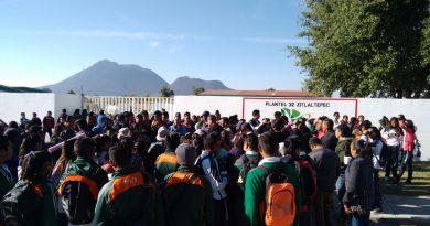 Cierran paterfamilias y alumnos CECyTE de Zitlaltepec
