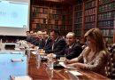 Participa Marco Mena en reunión de seguridad con Navarrete Prida