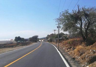 Culmina SECODUVI repavimentación del camino Atlamaxac- Teolocholco