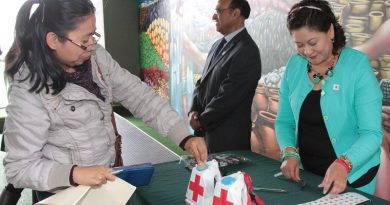 Sigue vigente en la SEPE-USET la colecta de la Cruz Roja