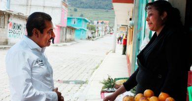 Legislaré a favor del empleo, la salud y la seguridad: Florentino Domínguez