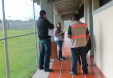 La CEDH y CNDH realizan evaluación a CERESOS