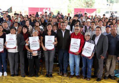 Invierte SEFOA más de dos mdp en producción de traspatio en Tlaxcala