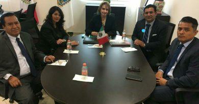 Se reúnen Magistrados del TJA de Puebla y Tlaxcala