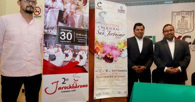"Presentan ""Festival Internacional San Jerónimo 2018"" de Coatepec, Veracruz"