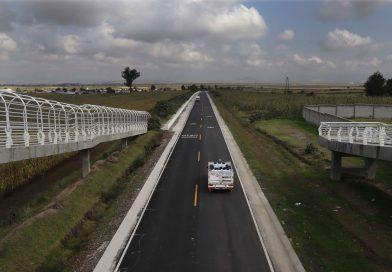Rehabilita SECODUVI carretera Benito Juárez-Hueyotlipan