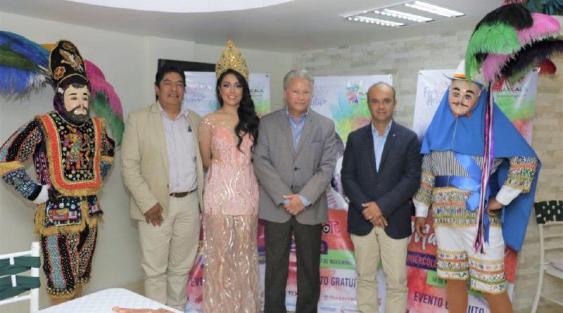 """Presentan actividades de """"Tlaxcala Feria 2018"""" en Veracruz"""