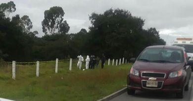Hallan cadáver sobre la carretera México -Veracruz