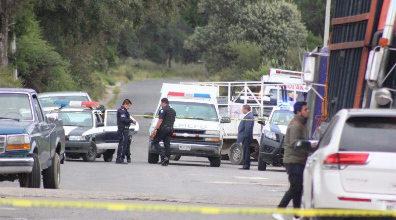 Un muerto y un herido deja hecho violento en Ixtacuixtla