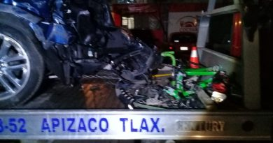 Muere ciclista profesional por atropellamiento en la México-Veracruz