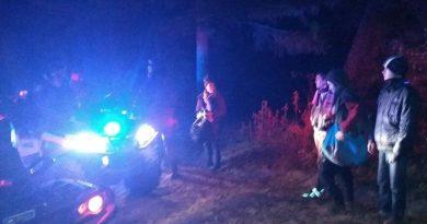Rescata policía de montaña a turistas en la Malinche