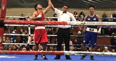 Gana Tlaxcalteca Miguel Ángel Capilla, Oro en Campeonato Nacional de Boxeo