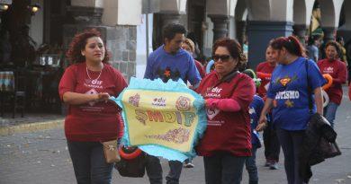 Conmemora SMDIF de Tlaxcala con desfile el Día Internacional de la Discapacidad