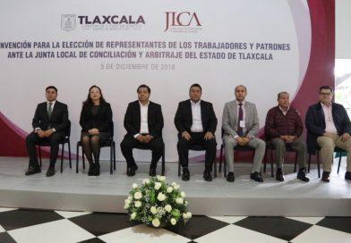 Eligen a representantes de los trabajos ante la junta local de conciliación y arbitraje