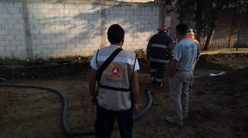 Moviliza a las autoridades fuga de gas