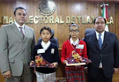 Eligen a representantes de Tlaxcala para integrar Tribunal Electoral Infantil