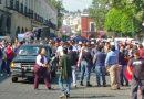 Marchan maestros de tiempo completo en la capital