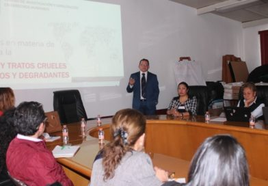 Imparten taller de análisis de recomendación a personal de la CEDH