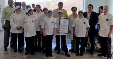 "Entrega SECTURE renovación de Distintivo ""H"" al comedor del Hospital Infantil de Tlaxcala"