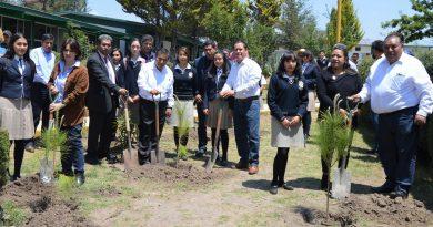 Fortalece CGE acciones de reforestación en favor del medio ambiente