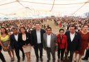 Refrenda Marco Mena compromiso con los maestros de Tlaxcala