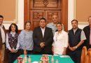 Colaboran SEGOB y representantes del frente parlamentario contra el hambre