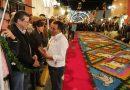 """Marco Mena y embajadores recorren alfombras de la """"Noche que nadie duerme"""" en Huamantla"""
