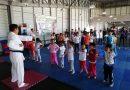 Visitan Polideportivo de Tlaxcala infantes de campamentos de verano