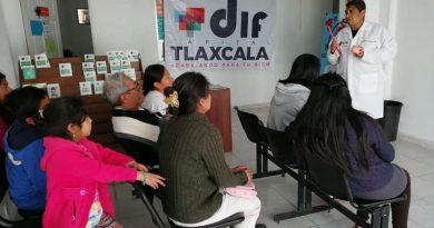 Brinda SMDIF de Tlaxcala servicios de atención general