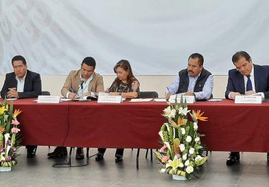 Firman convenio Gobierno de México y municipios de la Región I