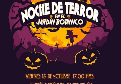 """Invita CGE a """"Noche de Terror"""" en el jardín botánico de Tizatlán"""