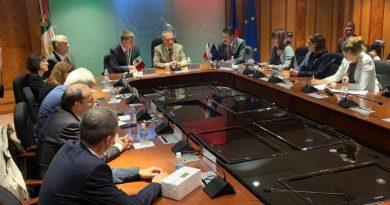 Recibe Diputada Federal, Claudia Pérez a Ministro de Relaciones Exteriores de la República Checa