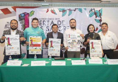"""Tlaxcala, estado invitado al Primer Fest Gastronómico """"Puerta de los Sabores, Veracruz 500 años"""""""