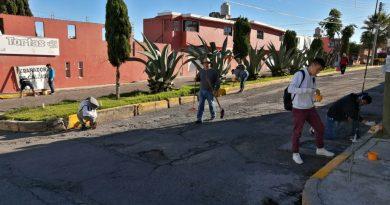 Continúan acciones de limpieza en Loma Bonita de la capital
