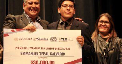 Entrega ITC Premios Estatales de Artes y Estímulos 2019