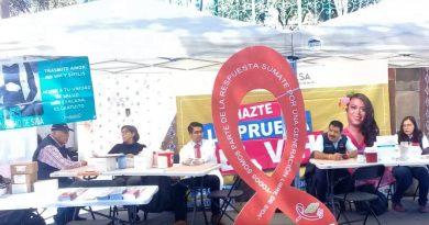 Aplica SESA mil 500 pruebas rápidas de VIH en seis municipios del estado