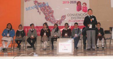 Seleccionaron distritos 01 y 03 del INE Tlaxcala a legisladores infantiles